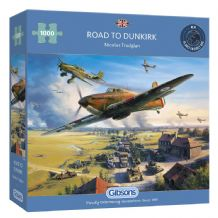 Road to Dunkirk- 1000 Piece Jigsaw Puzzle